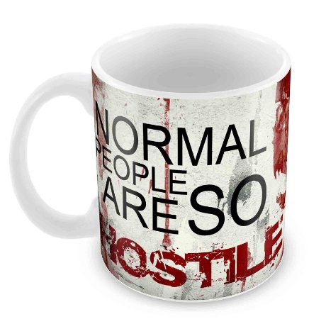 Caneca Branca - Dexter - Normal People