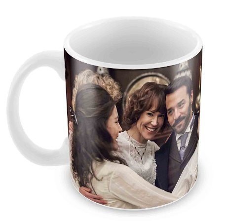 Caneca Branca - Mr Selfridge