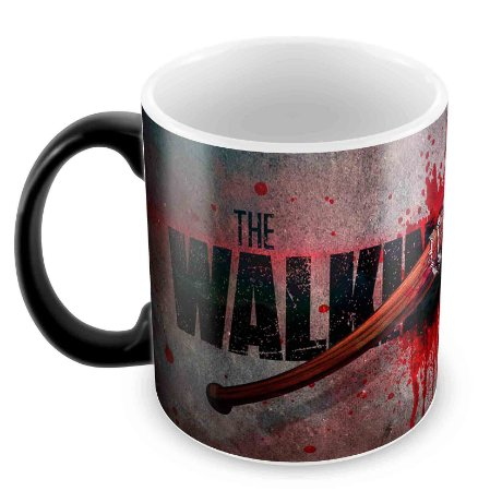 Caneca Mágica  - Walking Dead - Lucille