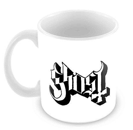 Caneca Branca - Ghost