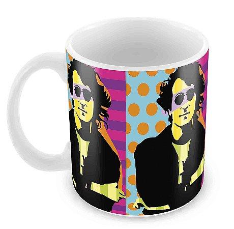 Caneca Branca - John Lennon