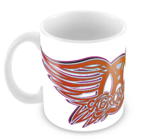 Caneca Branca - Aerosmith