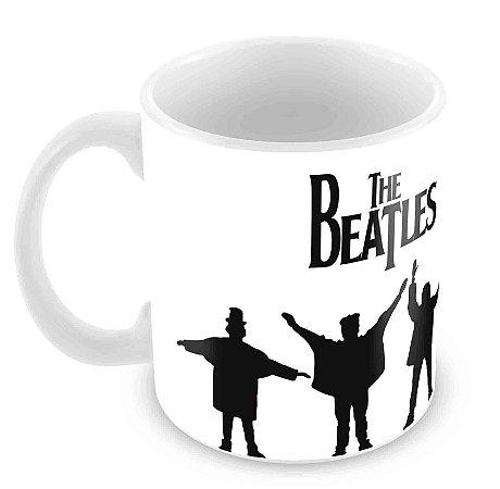 Caneca Branca - Beatles - 3