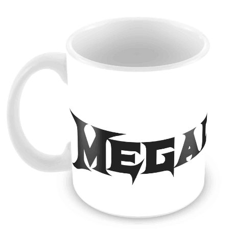Caneca Branca - Megadeth