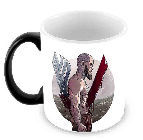 Caneca Mágica - Vikings - Ragnar