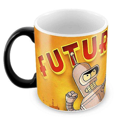 Caneca Mágica - Futurama - Logo