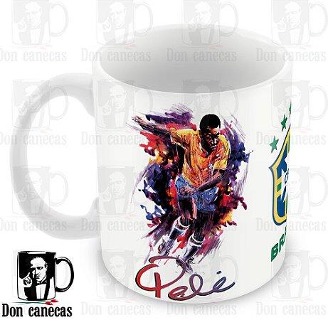 Caneca Branca - Pelé