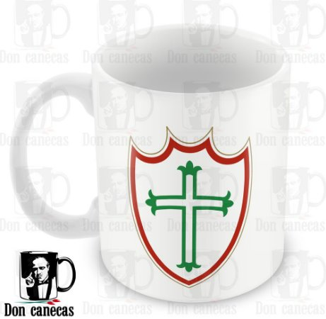 Caneca Branca - Portuguesa