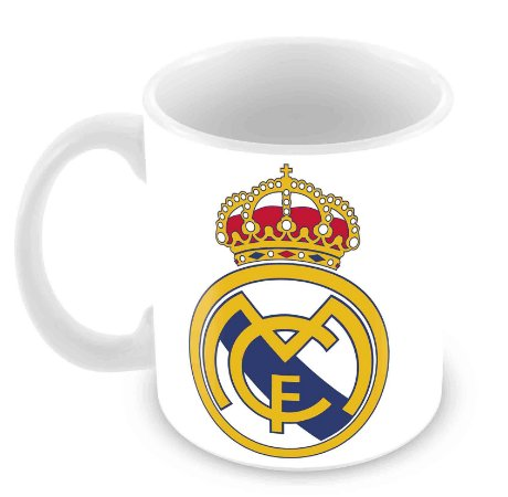 Caneca Branca - Real Madrid