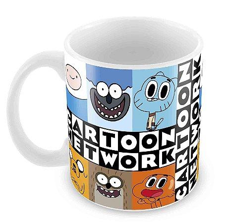 Caneca Branca - Cartoon Network 2