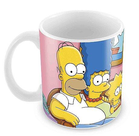 Caneca Branca - Os Simpsons 2