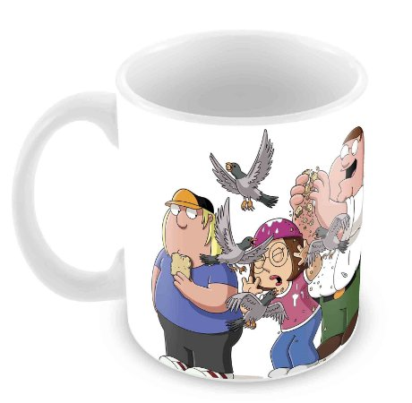 Caneca Branca - Family Guy
