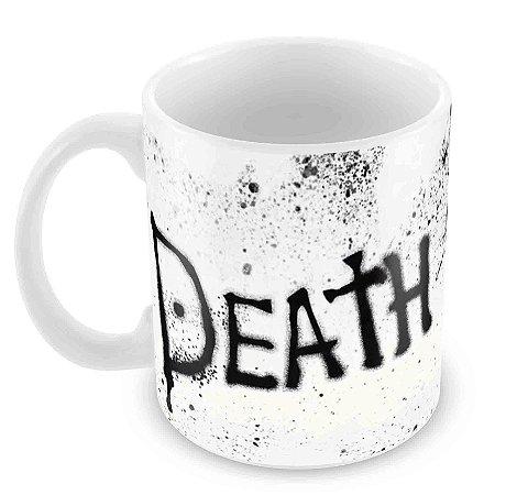 Caneca Branca - Death Note - Logo