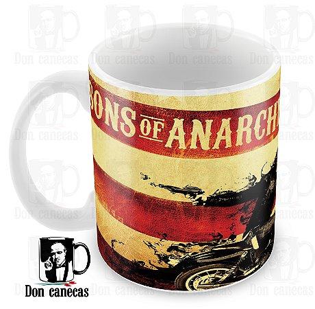 Caneca Branca - Sons of Anarchy - Jax - Oferta Única