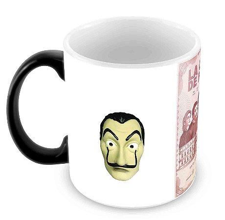 Caneca Mágica - La Casa de Papel - Máscara