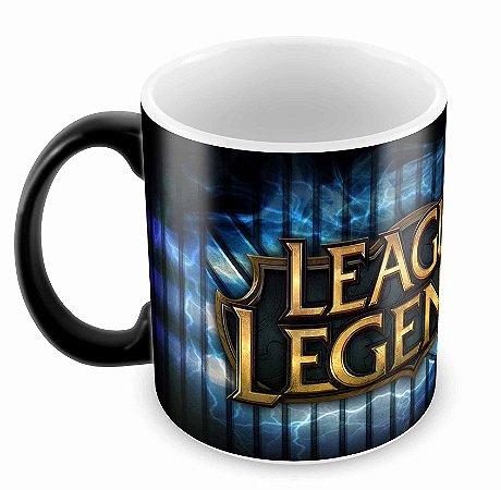 Caneca Mágica - League of Legends - Logo B
