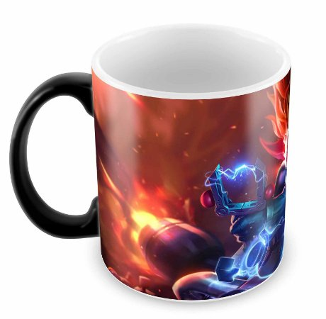 Caneca Mágica - League of Legends - Cat