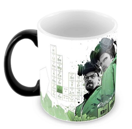 Caneca Mágica - Breaking Bad - Green