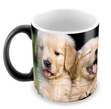 Caneca Mágica - 3 cachorros