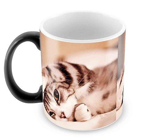 Caneca Mágica - Gatos