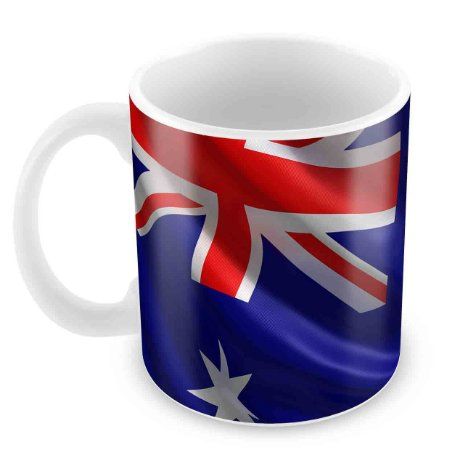 Caneca Branca - Australia