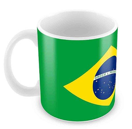 Caneca Branca - Brasil