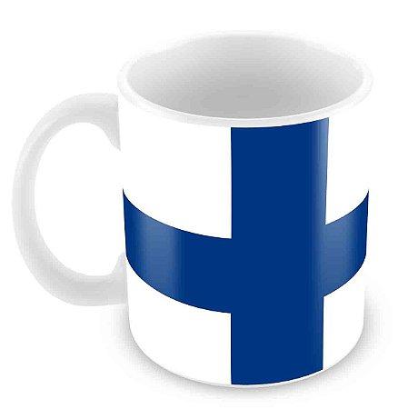 Caneca Branca - Finlandia