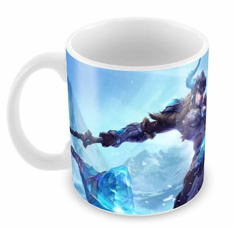 Caneca Branca - League of Legends - Ice