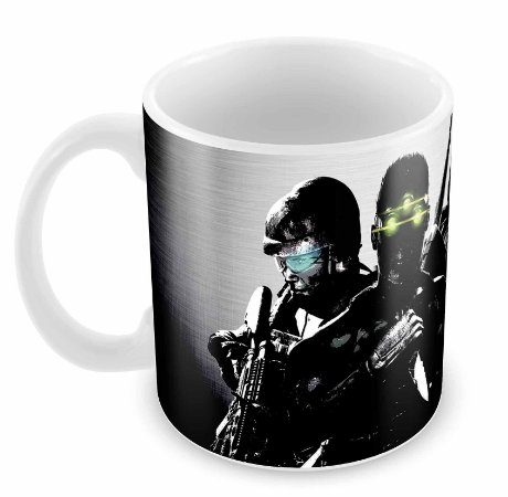 Caneca Branca - Splinter Cell