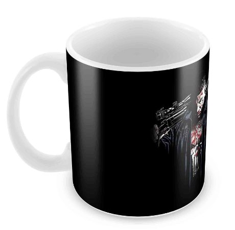 Caneca Branca - Justiceiro - The Punisher