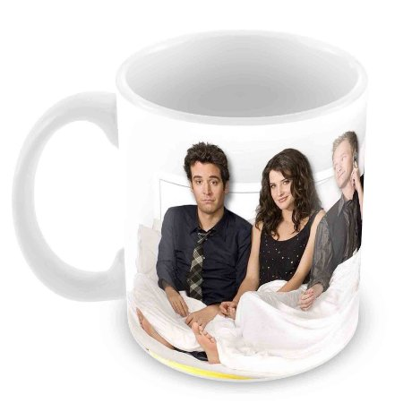 Caneca Branca - How I Met Your Mother