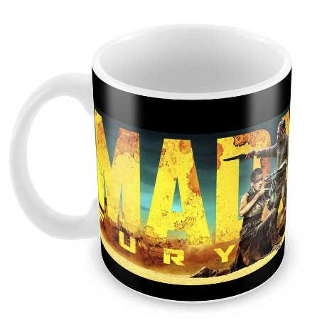 Caneca Branca - Mad Max