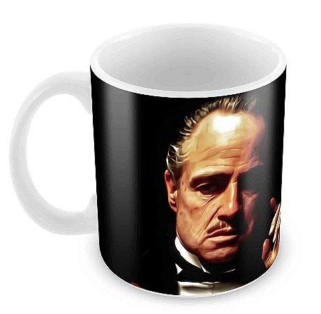 Caneca Branca - O Poderoso Chefão - Godfather 2