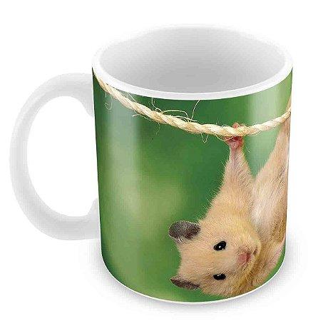 Caneca Branca - Hamster