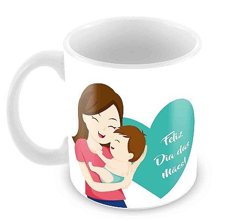 Caneca Branca - Dia das Mães -Mod 5