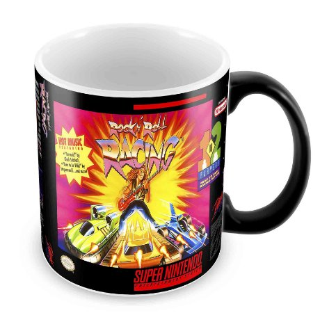 Caneca Mágica - SNES - Rock'n Roll Racing