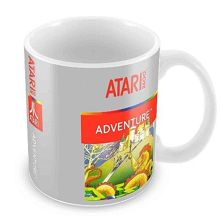 Caneca Branca - Atari - Adventure