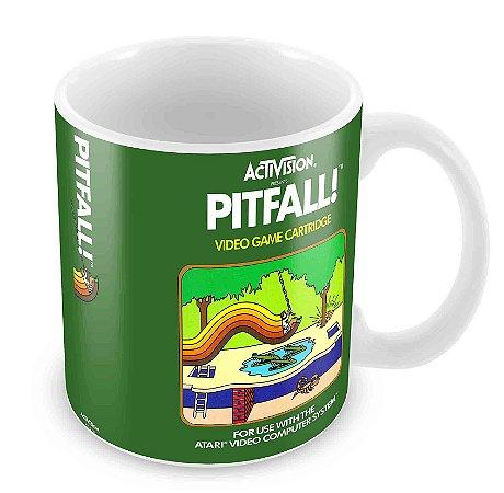 Caneca Branca - Atari - Pitfall