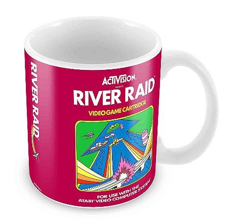 Caneca Branca - Atari - River Raid