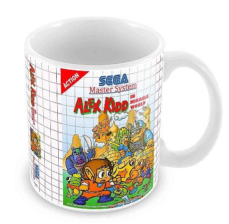 Caneca Branca - Master System - Alex Kidd Miracle
