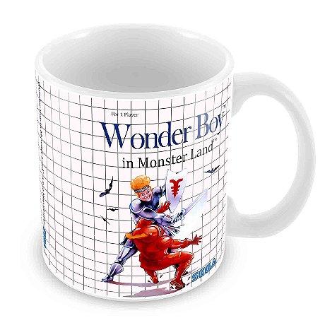 Caneca Branca - Master System - Wonderboy