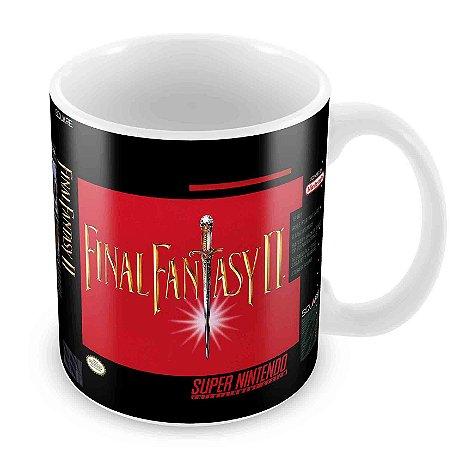 Caneca Branca - SNES - Final Fantasy II