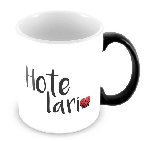 Caneca Mágica - Profissões - Hotelaria 2