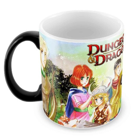 Caneca Mágica - RPG - Dungeons and Dragons