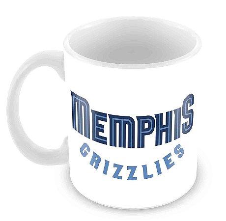 Caneca Branca - NBA - Memphis Grizzlies