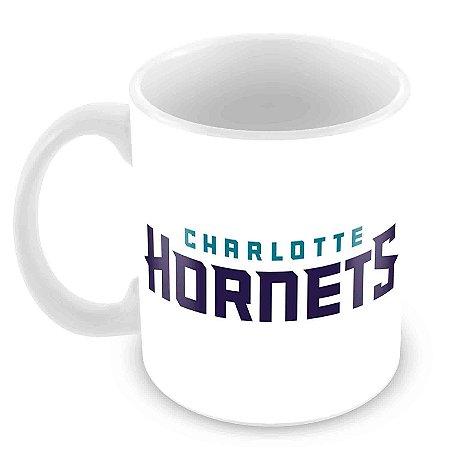 Caneca Branca - NBA - Charlotte Hornets