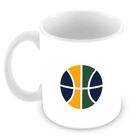 Caneca Branca - NBA - Utah Jazz