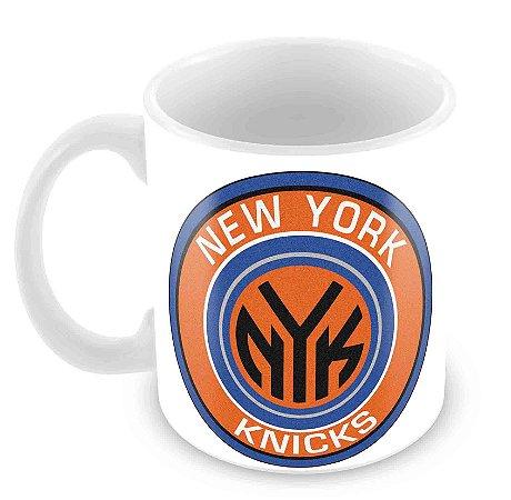 Caneca Branca - NBA - New York Knicks