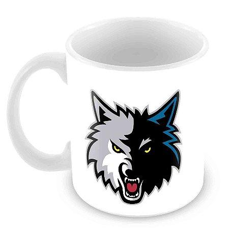 Caneca Branca - NBA - Minnesota Timberwolves