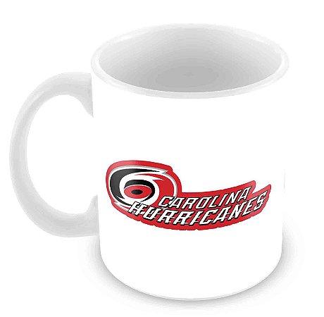 Caneca Branca - NHL - Hurricanes